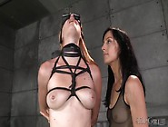 Electro Play Excites The Girl In Rope Bondage