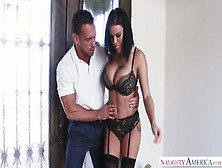 Lecherous Brunette With Big Boobs Peta Jensen Is Riding Hard Coc