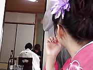 Tsuna Kimura Wearing Kimono