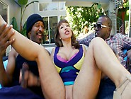 Two Black Dudes Are Having Their Way With A Horny Milf In A Thre