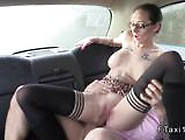 Amateur In Lingerie Fucks In Fake Taxi In Public
