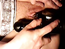 Lonely Wife Masturbates With A Black Toy