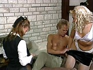 Buck Adams Proves He Is Not Too Old To Fuck 2 Sluts @ The Same T
