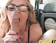 Stunning Mature Blonde Drills Driver Cock