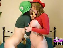 Yuffie. Yulan. And. Tina. Kay. Super. Mario. Sisters