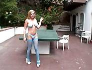 Sophia Gently - Bikini & Black Guy,  Anal