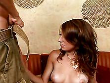 Magnificent Allyssa Hall Gets A Rimjob And Rides Big Cock