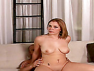 Mia Bella Sucks A Boner Before Taking It In Her Shaved Pussy