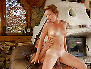 Short-Haired Lena Getting Her Pussy Stuffed In The Old Cottage