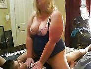 Cuckold Fantasy Chubby Blonde Talking Dirty