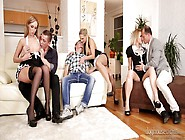 Seductive Babe Jenny Simons Arranges Dirty And Hardcore Group Or