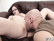 Breasty Teen Beauty Plays With Big Sex Toy And Anal Balls