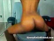 Horny Big Boobs Ebony Masturbates For Bf On Web Cam