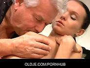 Old Man And Young Girl In A Dirty Dancing