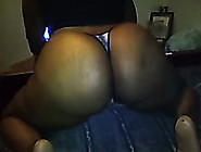 My Gorgeous Ebony Babe Twerks Her Magnificent Booty