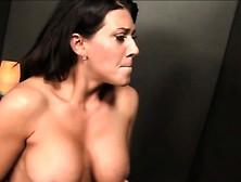 Milf Leena Sky Big Tits Glory Hole Blowjob