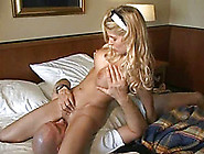 Captivating Long Legged Young Blonde Beauty Rides On A Dick