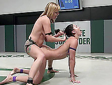 Sexy Blond Wenona Is Going To Penetrate Adrianna Nicole