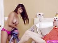 Asian Babe Tiffany Rain Fucked Her Stepmoms Bf