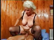 Elderly Lady Fucked By A Young Man