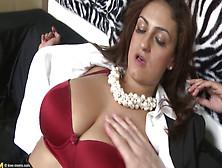 Sandra Milka Bouncing On The Big Juicy Cock