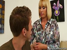 The Milf Mellanie Monroe Taking Advantage Of The Lad Danny Wylde