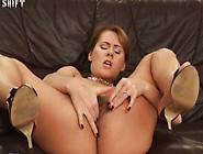 Susane - Amateur Hairy Pussy Solo Masturbation