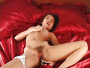 Asian Amateur Teen From Thailand Plays With Her Hairy Pussy