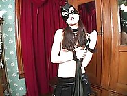 Hot Babe,  Amai Lui Is Wearing Her Favorite Latex Mask,  While Get
