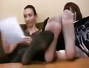 2 Teachers With Big Feet Humiliate You Joi