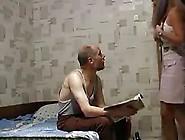 Old Pervert Man Fucks Not His Young Teen Daughter