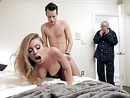 Cheating Wife Britney Amber Gets Caught By Her Husband