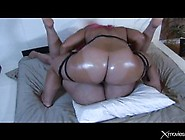 Fat Lady Puts On A Strap- On And Fucks Her Best Friend Until She