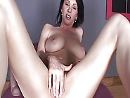 Dirty Talking Raven Strips And Gets Fucks Juicy Pussy