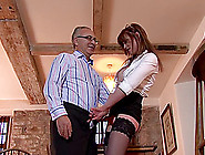 Woman Loves Enjoying With Older Cock