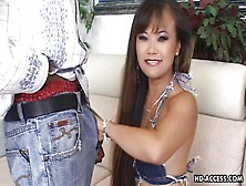 Mia Gladly Takes A Big Black Dick In Her Mouth