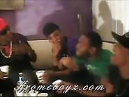 Black Guetto Boys In An Orgy
