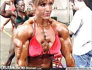 Gina Davis Backstage Workout