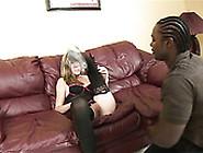 Meaty Pussy Of Cute Blonde Teen Gets Eaten By Black Gangsta