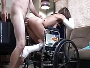Horny Son Fucks Not Real Mother From Sexdatemilf. Com In Wheelcha