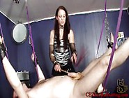 Cbt Mistress Cheyenne Swing Set Balls And Cock Torture