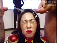 Japanese Girl Gets Some Amazing Hot Cumshots On Her Face By List