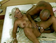 Mature Blonde With Big Hanging Tits