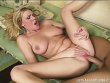 Big-Ass Beauty Victoria Vonn Takes A Hardcore Treatment Like A P