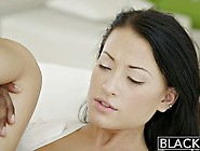 Gorgeous Girl Goes Black And Gets Off On Him