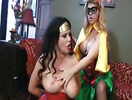Superheroine Lezdom Action