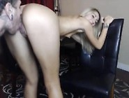 Blonde Milf With Young Stud Fucks In Hardcore Style In Front Of