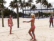 Beach Volleyball Turns To Horny Groupsex With Horny Dudes