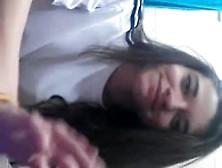 Novinha Peruana Pelada Tocando Siririca Na Escola