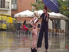 erziehung des sklaven nackt in der öffentlichkeit videos